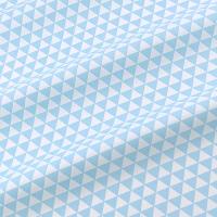 Ткань на отрез бязь плательная 150 см 1773/24 цвет голубой