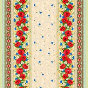 Рогожка 150 см набивная арт 902 Тейково рис 18752 вид 1