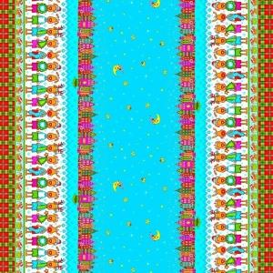 Рогожка 150 см набивная арт 902 Тейково рис 21013 вид 1