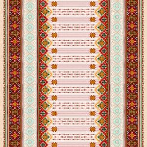 Рогожка 150 см набивная арт 902 Тейково рис 21061 вид 1
