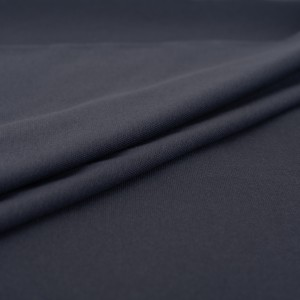 Ткань на отрез рибана с лайкрой М-2107 цвет серый