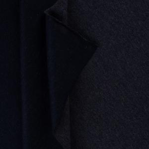 Ткань на отрез футер петля с лайкрой 08-12 цвет темно-синий меланж