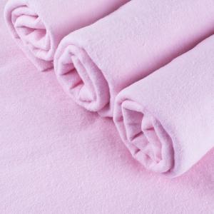 Пеленка фланелевая цвет розовый 75/120