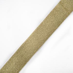 Резинка декоративная 2285 золото с люрексом 4см 1 метр