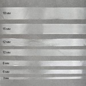 Лента силиконовая матовая ширина 12 мм толщина 0.3 мм