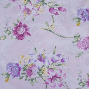 Тик 220 см 145 +/- 5 гр/м2 Цветная роза цвет розовый 005