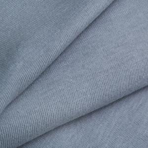 Ткань на отрез кулирка гладкокрашеная 7332 цвет серый