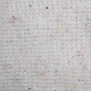 Ткань на отрез полотно холстопрошивное частопрошивное белое 130 см