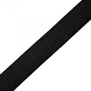 Резинка вязаная 25мм 25м черная