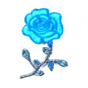 Аппликации термо 915-3 (8,0х5,0) цвет т-голубой упаковка 5 шт
