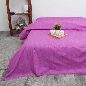 Пододеяльник из перкаля 2049312 Эко 12 пурпурный, 2-x спальный