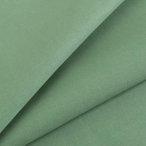 Ткань на отрез сатин гладкокрашеный 250 см 15-6316 цвет зелень
