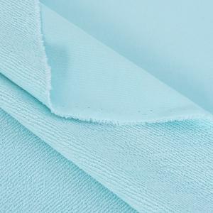 Ткань на отрез футер 3-х нитка диагональный цвет мятный