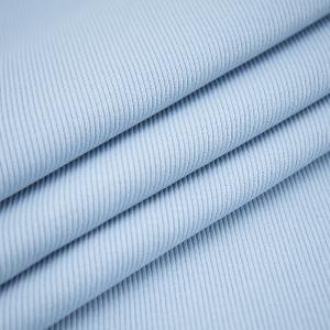 Ткань на отрез кашкорсе 3-х нитка с лайкрой цвет голубое небо