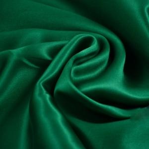 Шелк искусственный 100% полиэстер, цвет изумруд ш. 220 см