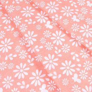Ткань на отрез бязь плательная 150 см 1553/4 цвет персик