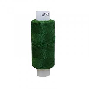 Нитки швейные 45ЛЛ 200м цвет 3114 т.зеленый