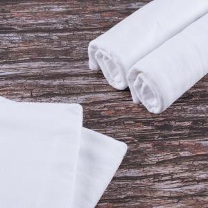 Набор детских пеленок фланель 4 шт 75/120 см Белый