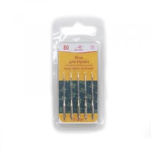 Иглы для бытовых швейных машин №80 Арти стрейч