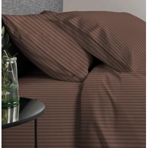 Ткань на отрез перкаль 220 см 6793/18 Шоколадный брауни