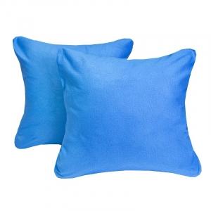 Наволочка Ситец синий в упаковке 2 шт 60/60 см