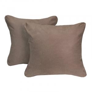 Наволочка Ситец коричневый в упаковке 2 шт 60/60 см