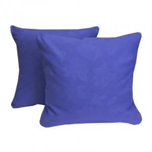 Наволочка Ситец фиолетовый в упаковке 2 шт 60/60 см