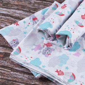 Набор детских пеленок ситец 4 шт 90/120 см 92871