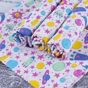 Набор детских пеленок ситец 4 шт 90/120 см 95092