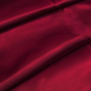 Ткань на отрез шелк искусственный 100% полиэстер 220 см цвет красный