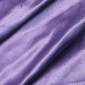 Ткань на отрез шелк искусственный 100% полиэстер 220 см цвет сиреневый