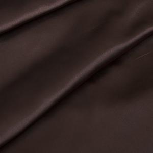 Ткань на отрез шелк искусственный 100% полиэстер 220 см цвет шоколад