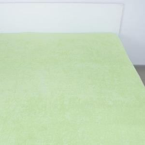 Простынь махровая цвет Салатовый 180/220