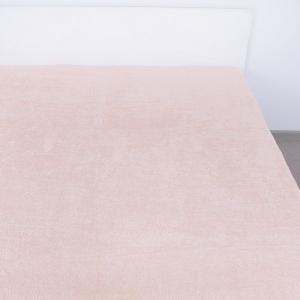 Простынь махровая цвет Персиковый 180/220