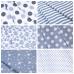 Ткань на отрез бязь плательная 150 см 1554/20А цвет серый