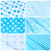 Ткань на отрез бязь плательная 150 см 1554/24А цвет бирюза