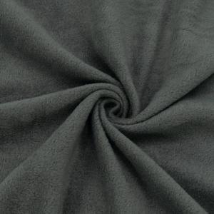 Ткань на отрез флис цвет Серый