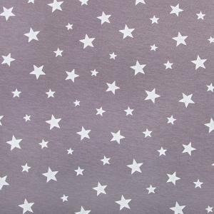 Ткань на отрез кулирка Звезды 1167-V4