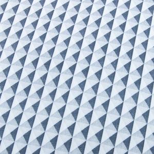 Ткань на отрез кулирка Ромбы 1107-V1