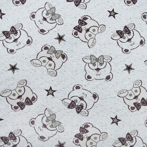 Ткань на отрез кулирка Мишки 3036-V1