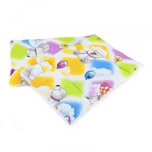 Подушка для новорожденных набивная 40/60 разные цвета