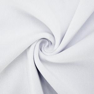 Ткань на отрез кашкорсе 3-х нитка с лайкрой цвет белый