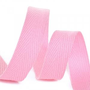 Лента киперная 10 мм хлопок 2.5 гр/см цвет F134 розовый