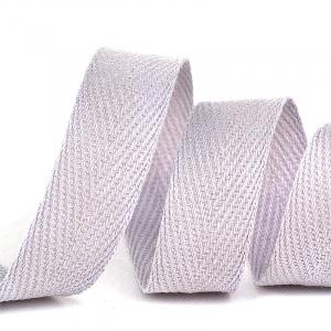 Лента киперная 10 мм хлопок 2.5 гр/см цвет S154 светло-серый