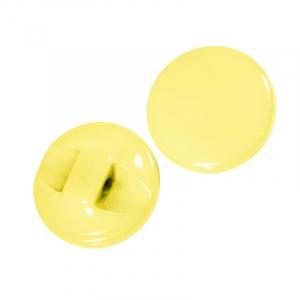 Пуговицы Карамель 11 мм цвет св-желтый упаковка 24 шт