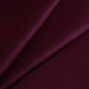 Ткань на отрез креп-сатин цвет бордовый