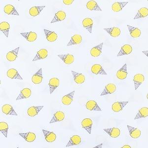 Ткань на отрез бязь плательная 150 см 1812/8 цвет желтый