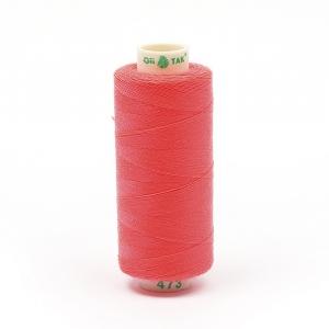 Нитки бытовые Dor Tak 40/2 366м 100% п/э, цв.473 розовый