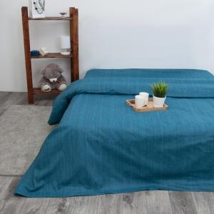 Пододеяльник из перкаля 2049314 Эко 14 зеленый, 2-x спальный