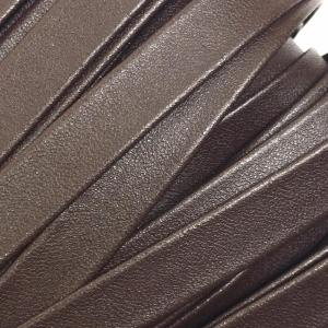 Шнур декоративный кожзам 10мм коричневый 2148 уп 10 м